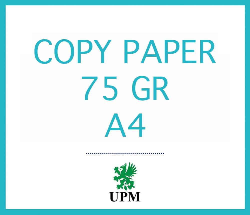 UPM COPY PAPER 75 GR
