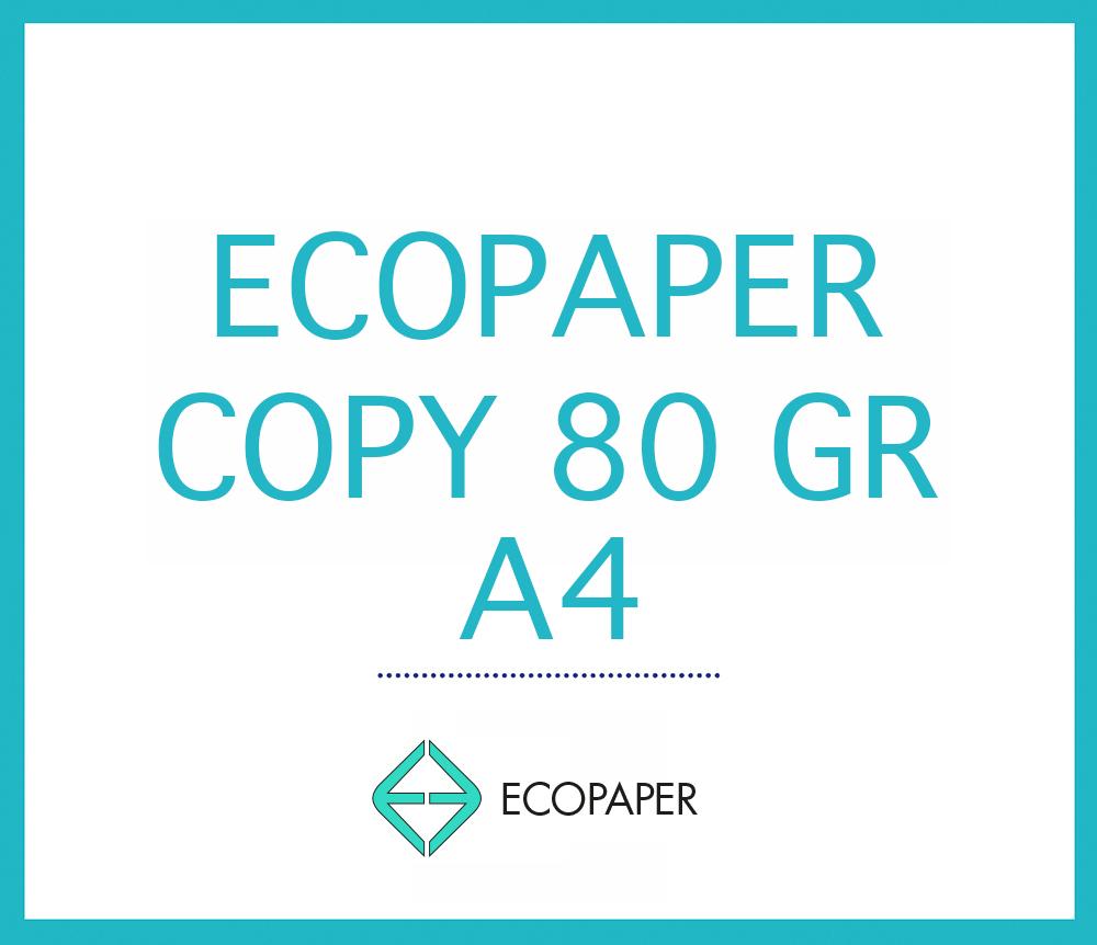 ECOPAPER COPY 80 GSM